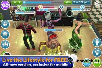 The Sims™ FreePlay для iPhone/iPad