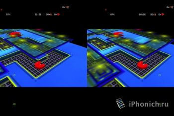 Игра для iPhone PAC-LABY 3D