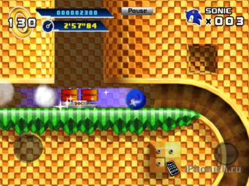 Игра для iPad Sonic The Hedgehog 4™ Episode I HD