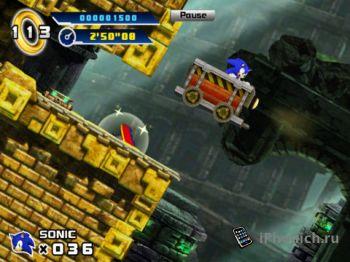 Игра для iPad Sonic The Hedgehog 4™ Episode I HD