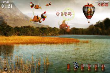 Игра для iPhone iShootTurkey Pro