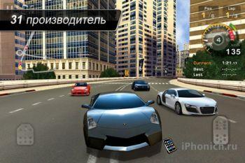 Игра  GT Racing: Motor Academy Free+ на iPhone и iPad