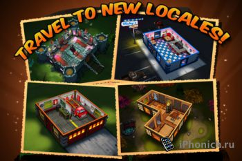 Игра для iPhone Zombie Wonderland 2 Outta Time!