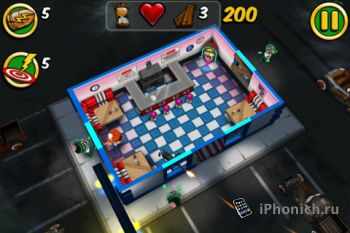 Игра для iPhone Zombie Wonderland 2 Outta Time!
