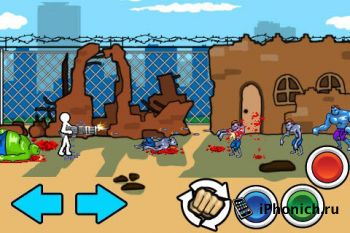 Игра на iPhone AngerOfStick-Friend