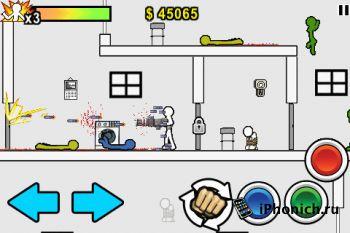 Игра на iPhone AngerOfStick-Friend