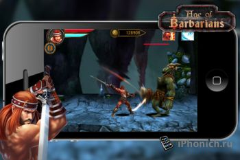 Игра для iPhone Age of Barbarians