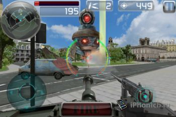 Игра для iPhone Tank Battle FULL
