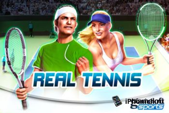 Игра на iPhone Real Tennis