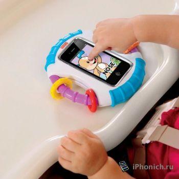 Laugh & Learn Baby iPhone Case позволит малышам освоить iPhone