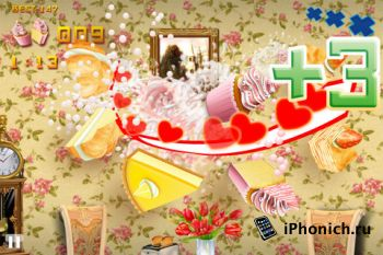 Игра для iPhone Cake Ninja Pro