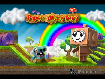 Paper Monsters - Отличная бродилка