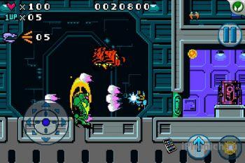 Игра на iPhone Dark Void Zero
