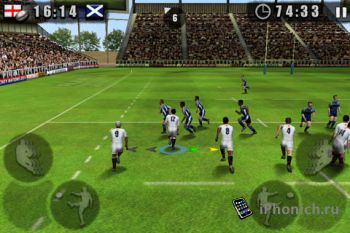 Rugby Nations 2011 для iPhone/iPad