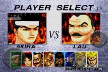Virtua Fighter 2 - классический файтинг для iPhone / iPod Touch
