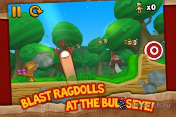 Ragdoll Blaster 3 для iPhone / iPad