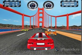 Игра для iPhone Racing Thrill
