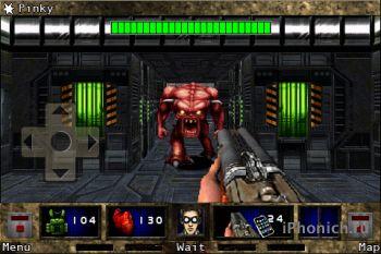 Игра для iPhone DOOM II RPG
