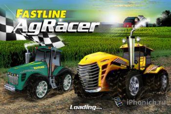 AgRacer - гоночная игра на тракторах
