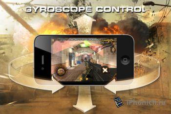 Игра на iPhone Modern Combat: Sandstorm