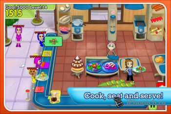 Cooking Dash Deluxe - одна из популярных франшиз игр на iPhone и IPad