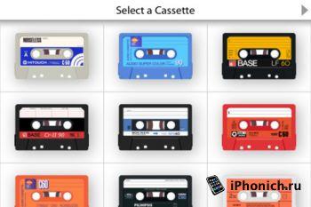 AirCassette для iPhone / iPod