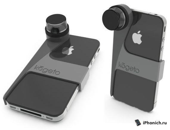 Dot ─ устройство для панорамной съёмки на iPhone