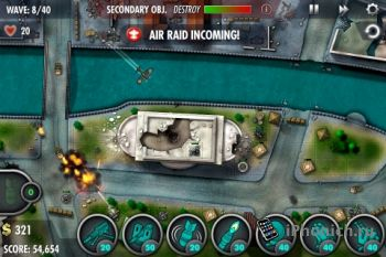 iBomber Defense Pacific для iPhone / iPad