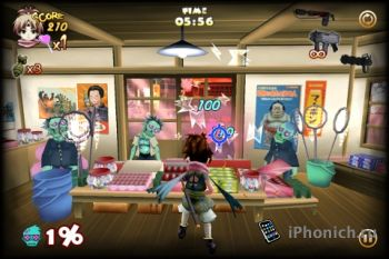 Zombie Panic in Wonderland Plus для iPhone