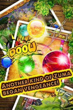 Игра Zuma Revenge Pro для iPhone