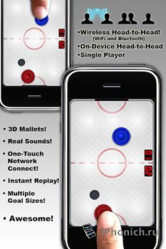 Игра для iPhone Touch Hockey FS5