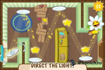 Light The Flowe - хорошо организованная головоломка