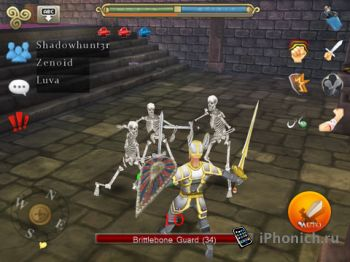 3D MMO Celtic Heroes - типа WOW но графика по слабей