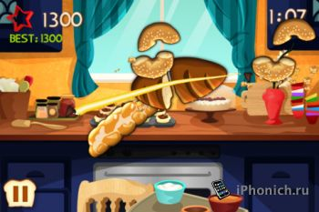 Игра Sliced Bread для iPhone