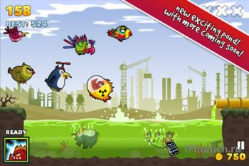 Игра для iPhone Fish Fury