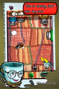Игра для iPhone Mugs & Bugs
