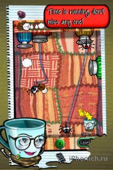Игра для iPhone Mugs & Bugs