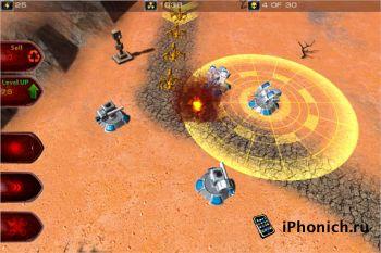 MarsDefense для iPhone и iPad