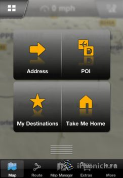 iPhone NAVIGON MobileNavigator Europe + iPad