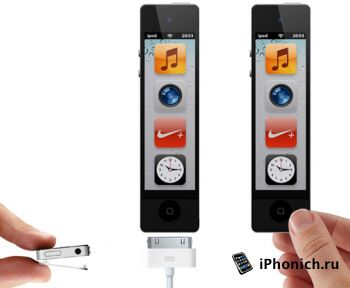 Концепт iPod nano: больше и функциональнее