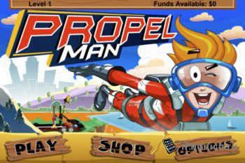 Propel Man - забавная и приятная игрушка