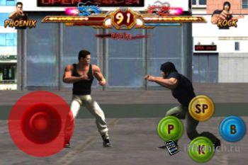 Игра Dragon Returns: Чемпионат боевых искусств для iPhone