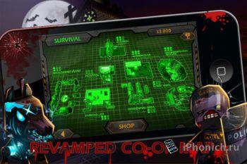 Дуал-стик шутер  Call of Mini: Zombies для iPhone и iPad