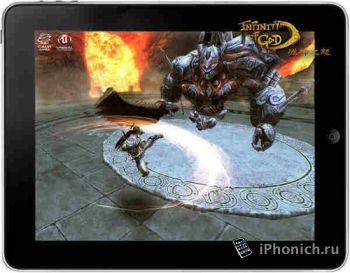 Экшн Infinity of God для iPhone и iPad