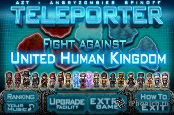 Игра для iPhone AZT:Teleporter HD