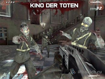 Call of Duty: Black Ops Zombies  для iPhone iPad