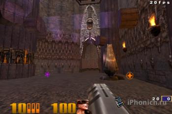 Игра на iPhone Quake III