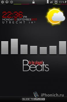 LS Beats - ритм музыки на локскрин iPhone