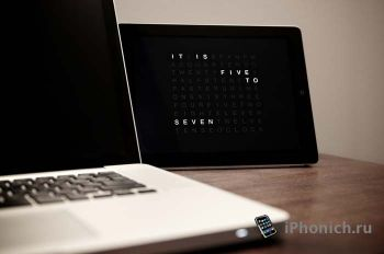 Time in Words: Qlocktwo для iPhone и iPad