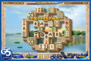 Игра на iPhone Mahjongg Artifacts